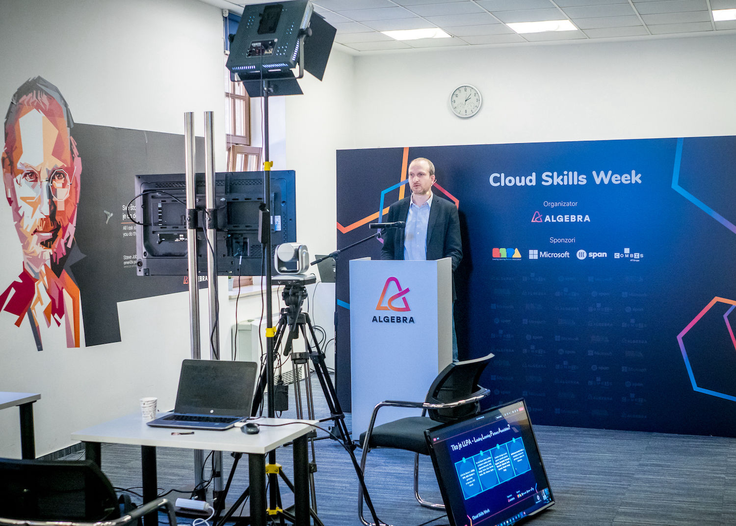"""""""Global Cloud Skills Tour"""" – conferences and education for employees"""